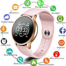 LIGE <b>Smart Bracelet Waterproof</b> Fitness Tracker Heart Rate Monitor ...