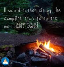 Image result for coffee and a campfire