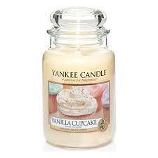 Yankee Candle Vanilla Cupcake Jar Candle - Large | Свечки, <b>Свеча</b>