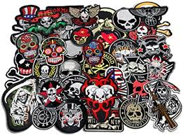 24pcs/lot Mixed 5-12cm Iron-on Embroidered Patches ... - Amazon.com