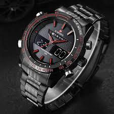 New NAVIFORCE Luxury Brand Watches <b>Men</b> Sport <b>Full Steel</b> ...