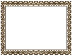 resume border designs certificate borders funeral card templates new ptc sites certificate border clipart