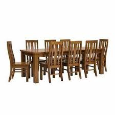 furniture timber vast vast hardwood timber table and rattan chairs dining tables