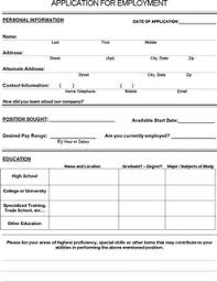 job application tips interviewpenguin com standard job application form