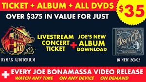 All-Access Pass (Best Value) - <b>Joe Bonamassa Live</b>
