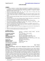 dot net sample resume for freshers aspnet resume samples cv format for freshers students