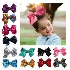 <b>Cute Girl</b> JOJO Sequins Bowknot Rainbow <b>Shining</b> Hairpin   Shopee ...