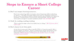 ways to lower your grades or flunk out of college ppt 8 14