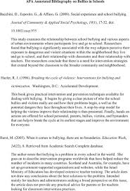Annotated bibliography sheet Fcmag ru