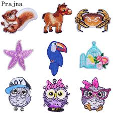 Prajna <b>Unicorn</b> Owl <b>Patch</b> Rainbow <b>Sequin</b> Horse Iron on ...