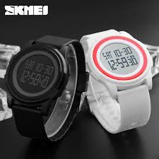 <b>SKMEI</b> 1206 <b>Men Women LED</b> Digital Watch Wristwatch Waterproof ...