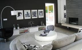 living room inspiration black