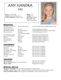 acting resume template template acting resume template