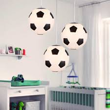 Online Shop Football Basketbal <b>Led Ceiling Lights Children</b> Flush ...