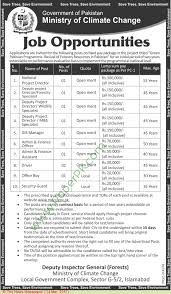 ministry of climate change jobs islamabad 14 3 17 ministry of climate change jobs islamabad