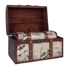 Fine Gifts <b>2 Wooden Treasure Chest</b> Stora- Buy Online in Kenya at ...
