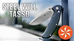 New Steel Will Tasso <b>Folding EDC Knife</b> Featuring the Ant-Lock ...