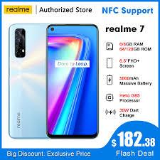 <b>realme 7</b> RMX2063 NFC <b>6.5</b>''FHD+ 6/8GB 64/128GB 48MP Quad ...