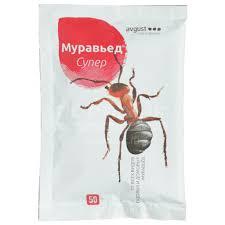 <b>Инсектицид от муравьев Муравьед</b> Супер, 50 г, Avgust в Старом ...
