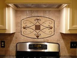 Kitchen Tile Backsplash Murals Design Pattern In Back Of Stove Backsplash Handmade Backsplash