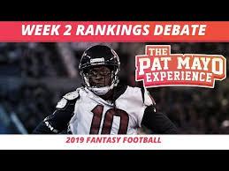 NFL Fantasy Football — 2019 Week 2 RB Rankings, Starts, Sit ...