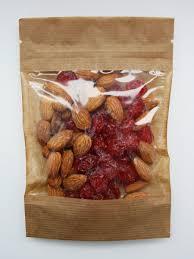 (200гр) <b>Смесь орехов и сухофруктов</b> / сушеный миндаль и вишня ...