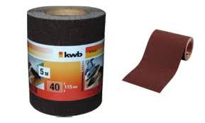 <b>Бумага наждачная</b> (5 м; 115 мм; <b>К120</b>) <b>KWB</b> 8178-12 - цена ...