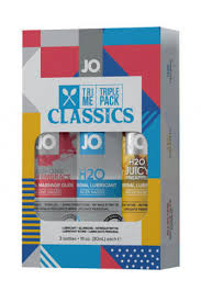 Подарочный <b>набор лубрикантов JO</b> Tri-Me Triple Pack Classics ...
