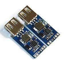 <b>DC</b>-<b>DC 9V/12V/24V to 5V</b> USB Step Down Power Module 2A ...