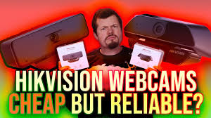 Hikvision <b>1080p</b> and <b>4K webcam</b> review - YouTube