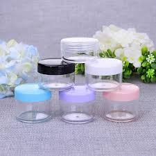 <b>10g</b>/<b>20g</b>/<b>50g</b>/100g Refillable Bottles Plastic Empty Makeup Jar Pot ...