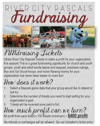 river city rascals fundraising opportunities for further details