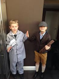 world book day boy striped pyjamas gallery georgie 10 and max 8 dressed from characters from the boy >