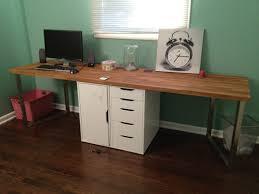 warm solid oak desks for home office furniture sets captivating design home office desk