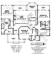 Cashiers Cabin House Plan   House Plans by Garrell Associates  Inc cashiers cabin house plan   st floor plan