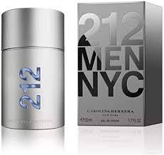 <b>Carolina Herrera 212 Men</b> Eau de Toilette Spray For Him, 50 ml ...