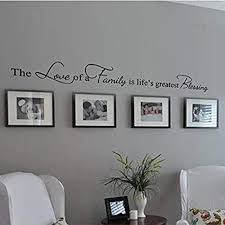 <b>Family</b> Decoration Wall Decal Couple Wall Stickers Living Room ...