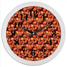 "Часы круглые из пластика ""<b>Дикая малина</b>"" #2617999 от piranya ..."