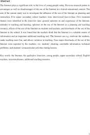 using the internet in education strengths and weaknesses pdf the aim of the current study was to investigate the influence of the use of the