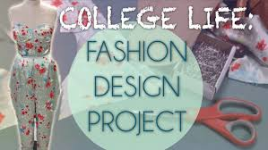 vlog life as a fashion design major