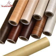 Wood grain Home <b>Decor</b> Furniture Vinyl Wrap Waterproof <b>Wall</b> ...