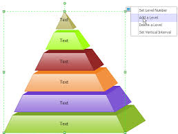 printable pyramid templatesit is also very easy to change the different color scheme   theme and quick style  learn how to draw pyramid diagram easily
