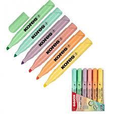 <b>Kores Маркер выделитель</b> текста High Liner Plus 6 цветов ...