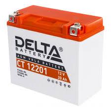 <b>Аккумулятор DELTA CT</b> 12201 обратная полярность 20 Ач ...