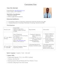 resume samples for college teaching positions college resume  directgov