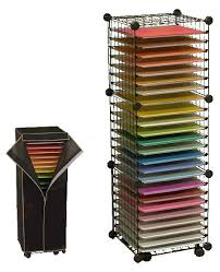shelving shelf paper storage scrapbook paper organizer shelves shelves casters and dust cover perfe