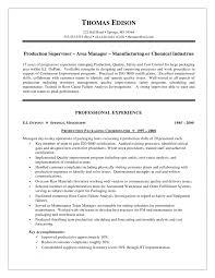 sample resume for supervisor position sample resume 2017 sample