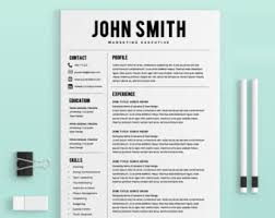 resume template resume builder cv template by yourproresumesresume template   resume builder   cv template   free cover letter   ms word on mac   pc   sample   best resume templates   instant download