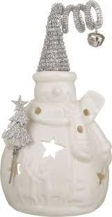 """<b>Фигурка</b> праздничная <b>Lefard</b> """"<b>Снеговик</b>"""", цвет: белый, 10 х 7 х 17 ..."""