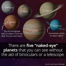 The Five Planets That Are Visible To The Naked Eye - ... via Relatably.com